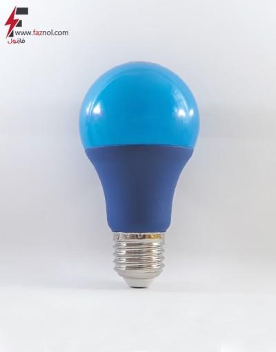 لامپ ال ای دی حبابی آبی 9 وات پایه E27- آلبو