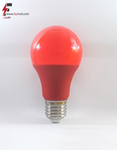 لامپ ال ای دی حبابی قرمز 9 وات پایه E27- آلبو