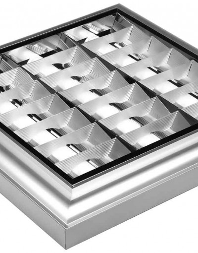 چراغ اداری - تجاری 3x36  کلاسیک - تابشگران نور
