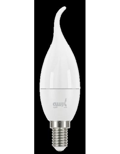 بسته 10 عددی لامپ LED شمعی اشکی 7 وات پارسه شید به همراه 1 بسته 4 عددی باتری سوپر انرژی وستینگهاوس