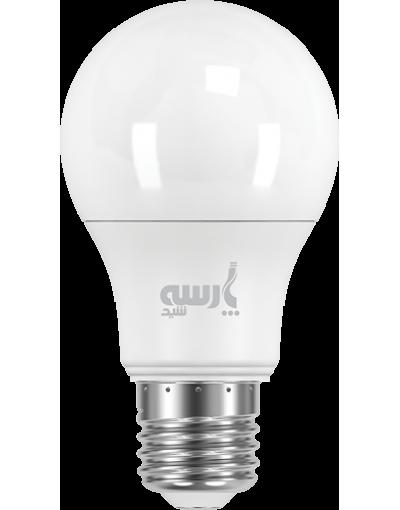 بسته 10 عددی لامپ LED حبابی 12 وات پارسه شید به همراه 1 بسته 4 عددی باتری سوپر انرژی وستینگهاوس