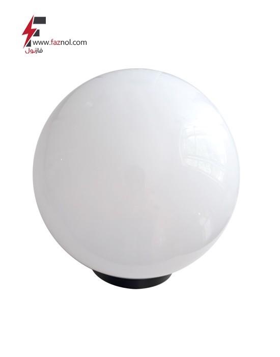 چراغ حیاطی حبابی سفید
