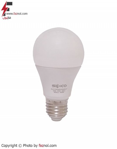 لامپ ال ای دی حبابی 10وات- سیدکو
