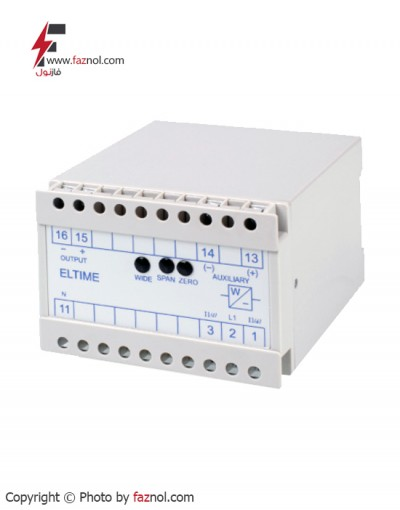 ترانس جریان مدل Eltime MFO-60