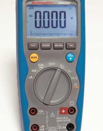 مولتی متر دیجیتال صنعتی مدل Multimetrix - DMM210