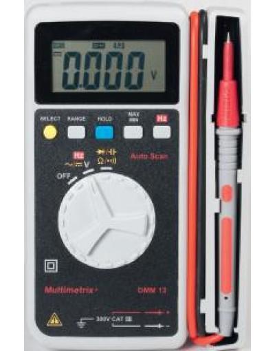 مولتی متر جیبی مدل Multimetrix - DMM13