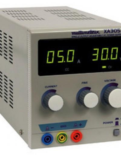 منبع تغذیه DC دیجیتال تک کانال مدل Multimetrix-XA3051