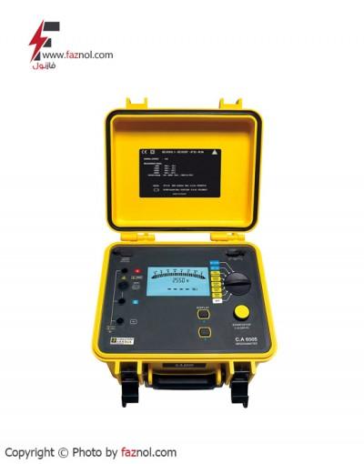 تستر مقاومت عایقی 5 کیلوولت مدل Chauvin Arnoux-CA6505