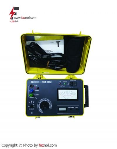 تستر مقاومت عایقی آنالوگ 5 کیلوولت مدلchauvin arnoux- ISOL5002