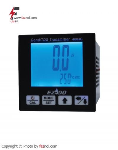 ترانسمیتر و ایندیکیتور تابلویی TDS/ EC /Temp مدل EZDO-4803C