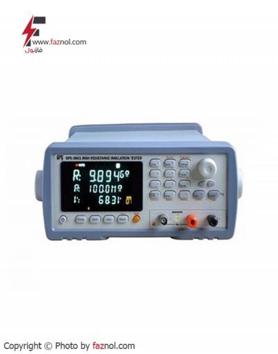 دستگاه اندازه گیری مقاومت عایقی GPS-3861