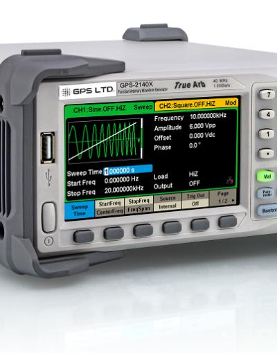 فانکشن ژنراتور دو کاناله 80 مگاهرتز  GPS-2180X