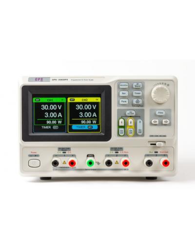 منبع تغذیه قابل برنامه ریزی دوبل دیجیتالی Linear  مدل GPS-3303DPX
