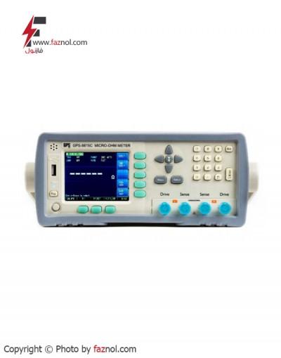 میکرواهم متر دیجیتال رومیزی مدل GPS-8815C