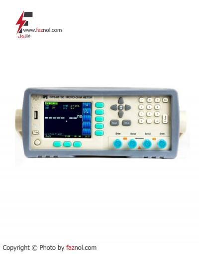 میکرواهم متر دیجیتال رومیزی مدل GPS-8815D