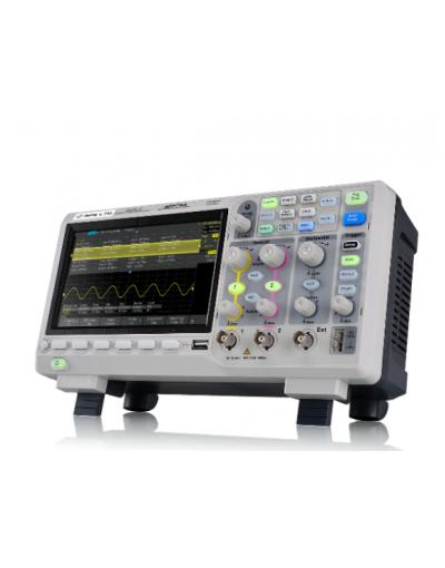 اسیلوسکوپ دیجیتال 100MHZ دو کاناله جی پی اس لیمیتد GPS-1102XE