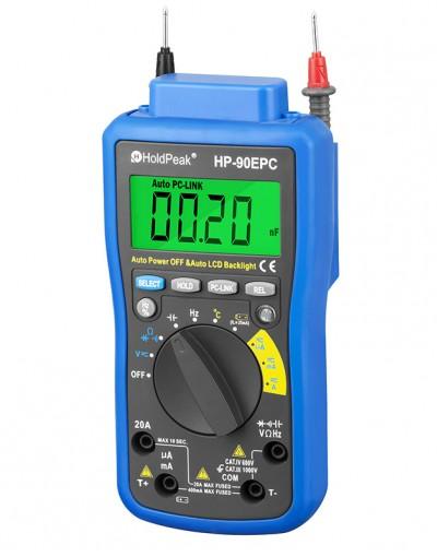 مولتی متر دیجیتال اتصال به کامپیوتر Holdpeak- 90EPC