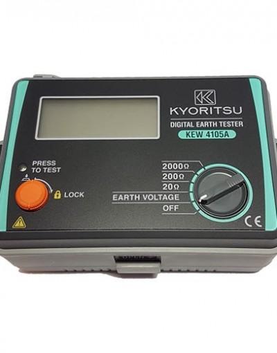 ارت تستر دیجیتال سه سیمه مدل Kyoritsu 4105DL-H