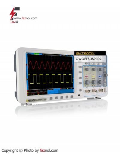 اسیلوسکوپ دیجیتال 300MHZ دو کاناله OWON - SDS-8302
