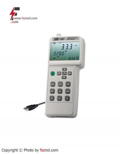 ECمتر پرتابل TES-1381
