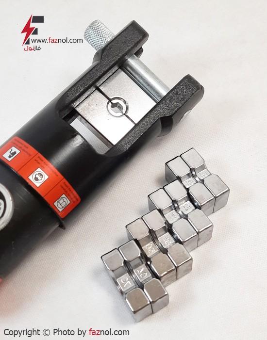 دستگاه پرس کابلشو هیدرولیکی دستی مدل HP-300 از سایز 16 الی 300