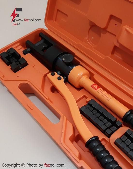 دستگاه پرس کابلشو هیدرولیکی دستی مدل HP-300 از سایز 10 الی 300