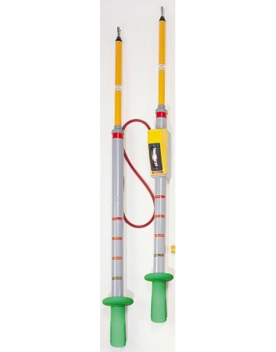 فازمتر و ولت متر دوبل فشارقوی 40 کیلوولت مدل PC33K - برند SEW