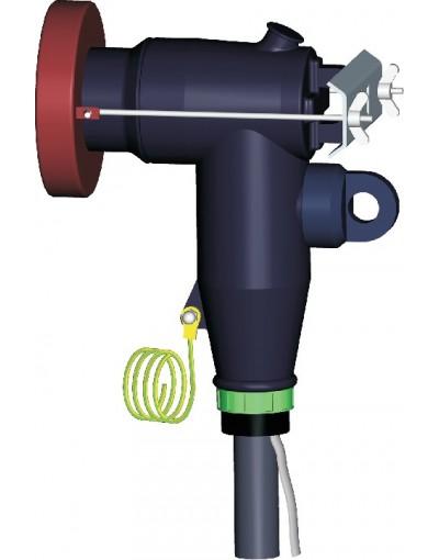 سرکابل پلاگین زانویی 24 کیلوولت 250 آمپر - امپلتک