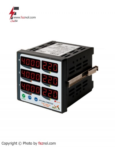 مولتی متر سه فاز 4 نمایشگر True RMSمدل MM3-4A-برناالکترونیک