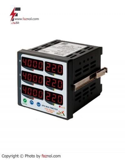 مولتی متر سه فاز 6 نمایشگر True RMSمدل MM3-6A-برناالکترونیک