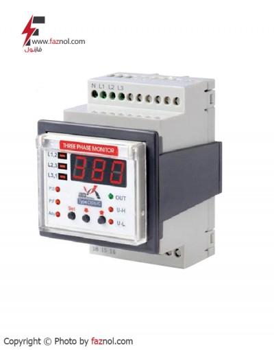 رله کنترل فاز دیجیتال مدل DSN/C-برناالکترویک