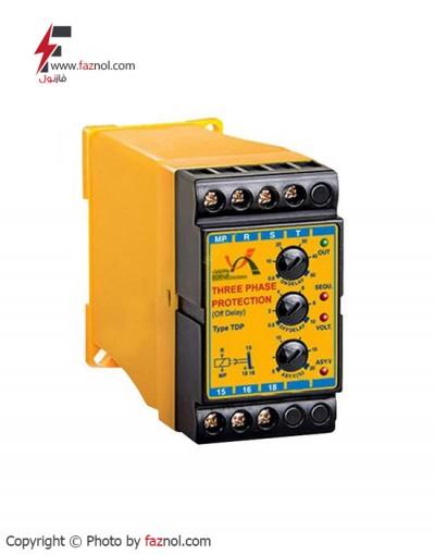 رله کنترل فازبا تاخیر در قطع TDP-برناالکترونیک