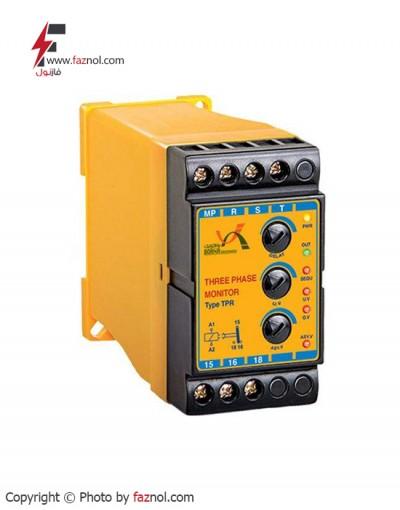 رله کنترل فاز 6 LED مدل TPR-برناالکترونیک