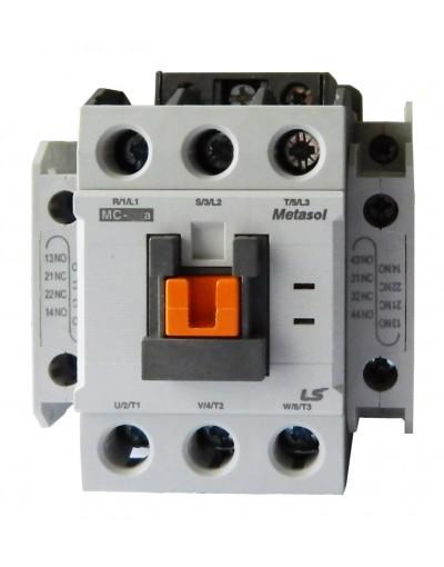 کنتاکتور 6-800 آمپر نوع AC3 با بوبین AC - متاسل - LS