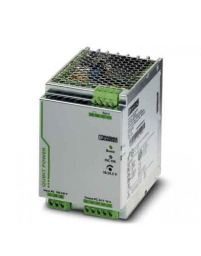 منبع تغذیه سوییچینگ تکفاز - خروجی 24 ولت DC و جریان 20A -مدل QUINT- فونیکس کنتاکت