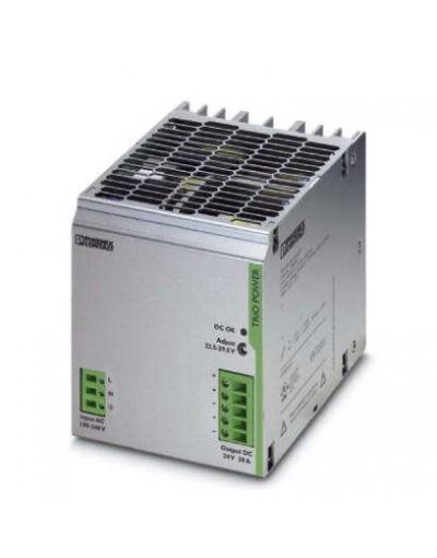 منبع تغذیه سوییچینگ تکفاز - خروجی 24 ولت DC و جریان 20A- مدل TRIO- فونیکس کنتاکت