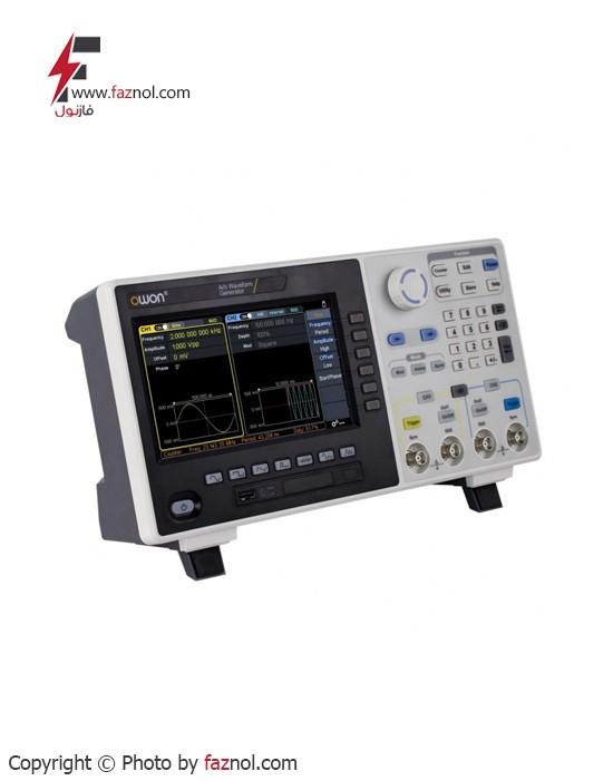 سوئیپ فانکشن ژنراتور دو کاناله دیجیتال OWON- AG2052F 1µHz ~ 50MHz