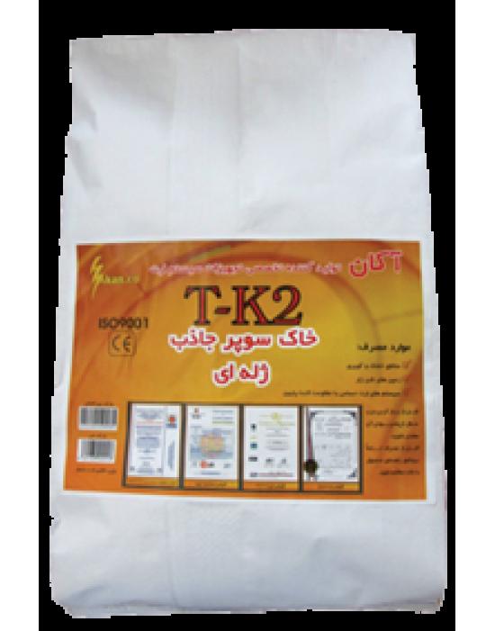 خاک کاهنده سوپر جاذب ژله ای ویژه مناطق خشک و کویری ( 15 کیلویی) - TK2 - آکان