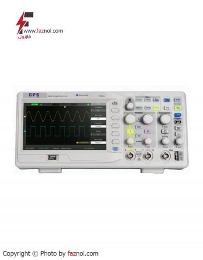 اسیلوسکوپ دیجیتال  150MHZ دو کاناله+GPS-1152B