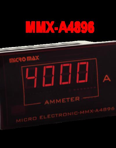 آمپرمتر مولتی رنج میکرو پروسسوری A4896 -میکرومکس