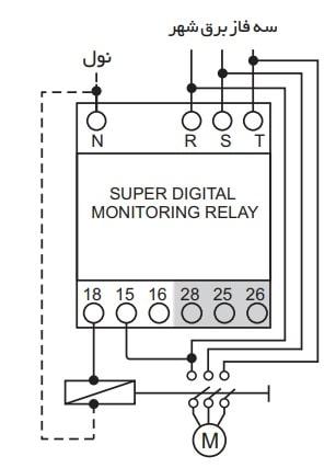 نحوه نصب سوپر کنترل فاز دیجیتال شیوا امواج